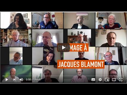 Souvenirs et Hommage à Jacques Blamont