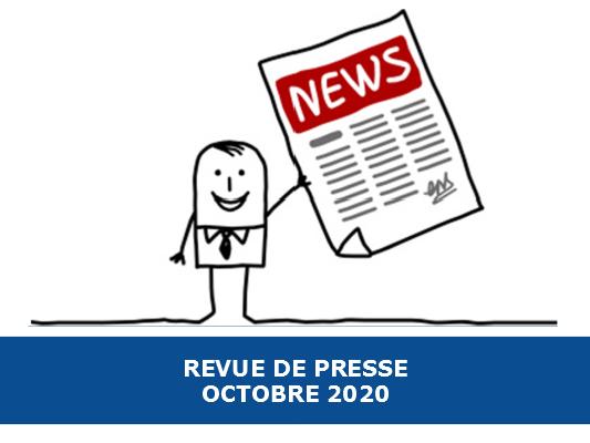 Revue de presse Exobio – Octobre 2020