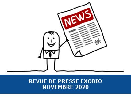 Revue de presse Exobio – Novembre 2020