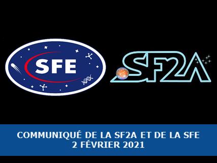 Communiqué de la SF2A et de la SFE