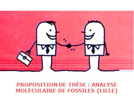 Proposition de thèse : Caractérisation moléculaire de micro- et macro-fossiles